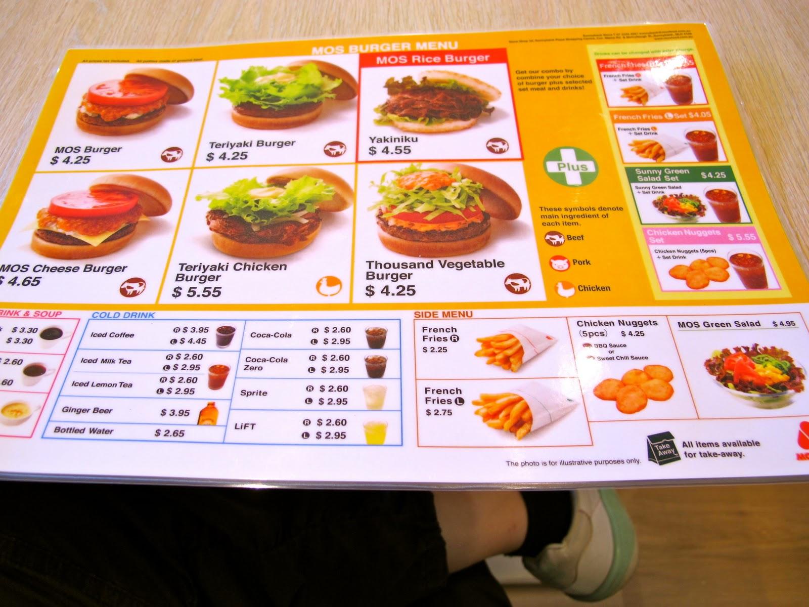 Thailand Kitchen Menu