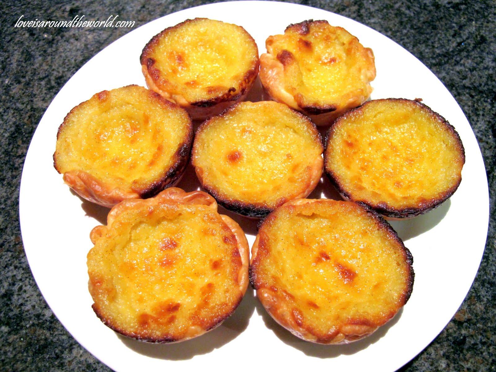 macau s portuguese custard tarts pastéis de nata s creamy custard ...